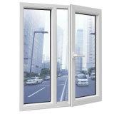 Строительных материалов алюминиевая рамка поворотного механизма и навесная Windows