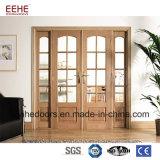 مدخل جميل زجاجيّة خشبيّة إطار باب مدخل خشبيّة