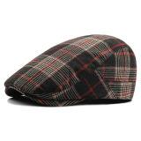 Chapéu Checkered da boina do algodão das várias cores com logotipo de Customed