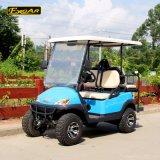 Carrello di golf elettrico di Seater del commercio all'ingrosso 4 di colore dell'azzurro di cielo