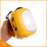 キャンプの緊急事態のための電話充電器が付いている携帯用LEDの太陽ランタンランプ