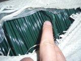 PVCは鉄のタイワイヤーに塗った
