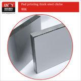 La stampa del rilievo fornisce il piatto d'acciaio