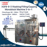 Lavage/remplissage/monobloc de plafonnement de la machine pour le vin (XGF8-8-3)