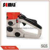 De manière ergonomique 2 Essence démontable sans outils de course de la scie à chaîne