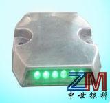 Visibilidad>Aleación de aluminio de 800 metros de carretera Solar Stud / LED Marcador de carretera