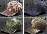 4개의 색깔 전술상 방울뱀 Airsoft 스포츠 모자 전투 야구 모자
