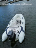 Barcos infláveis do reforço de Hypalon dos barcos da fibra de vidro de Liya 3.8m para a venda