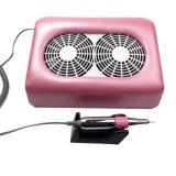Электрический лак для ногтей пыли вакуумного коллектора лак для ногтей сверла с двумя вентиляторами