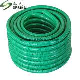 Mangueira trançada de PVC, o tubo de borracha de água de PVC de borracha reforçado com fibra