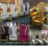 Trono Longue della sede di amore della presidenza della regina per la cerimonia nuziale/banchetto/ristorante/hotel