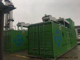 Centrale elettrica messa in recipienti del biogas