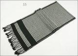 Зимы чывства кашемира женщин людей шарф печатание диаманта Unisex реверзибельной теплый проверенный толщиной связанный сплетенный (SP817)