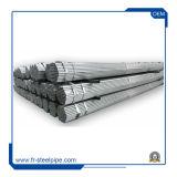 Ms ao redor da tubulação galvanizada pré corpo oco do tubo de aço galvanizado revestido a pó Preço Tubo de aço soldado pré galvanizada