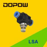 União dos controladores da velocidade de ar do LSA em linha reta
