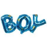 De samengevoegde Ballon van de Brief van het Meisje van de Jongen voor de Decoratie van de Douche van de Baby van de Partij van de Verjaardag