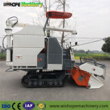 El sinfín de descarga de 360 grados cosechadora de arroz con gran tanque