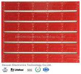 Conjunto de alta qualidade PCB/PCBA da placa de circuito impresso com máscara vermelha da solda