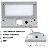 屋外省エネのステンレス鋼の防水庭ランプ21 LEDの太陽エネルギーPIRの動きセンサーの壁ライト