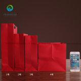 도매업자 새해 현재를 위한 다채로운 Foldable 선물 종이 봉지