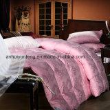 Baumwollgewebe-Rosa Colordown Tröster-/Double-Gesichts-Tröster-Deckel