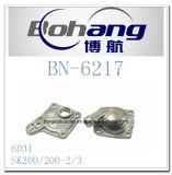 Sede automatica Sk200 Sk200-2/3 del termostato del Mitsubishi 6D31 del pezzo di ricambio del motore di Bonai