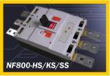 Los disyuntores de caja moldeada (NF800).