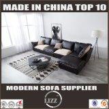 Curva grande L sofá da mobília Home da manufatura da forma