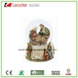 Globo dell'acqua del regalo 80mm del mestiere di Polyresin con i Figurines animali per la decorazione domestica ed i regali promozionali