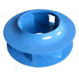 Hohe Leistungsfähigkeits-rückwärtiges zentrifugales Stahlgebläse (400mm)