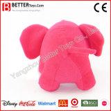 Jouets bourrés par peluche molle d'éléphant rose pour des gosses/enfants/bébé