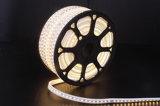 Licht van de LEIDENE UL van LED110V/220V 5050SMD het Lichte LEIDENE Strook