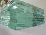 vidro de vidro do edifício de 1.9mm-25mm/vidro de flutuador desobstruído (W-TP)