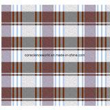 100%Polyester малая шотландка Pigment&Disperse напечатала ткань для комплекта постельных принадлежностей