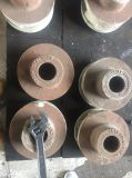 Le matériau a moulé le pivot malléable de fer