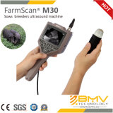 Scanner van de Ultrasone klank van Ce de SchapenFarmscan M30+, het Aftasten van de Pols, het Aftasten van de Hand, Varken, Vee, Koe