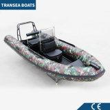 Aufblasbares Rippen-Boot der populärsten Tarnung-2017