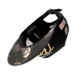 Пользовательские спортивной моды с черным провод фиолетового цвета кожи крепежные винты с головкой Snapback печати