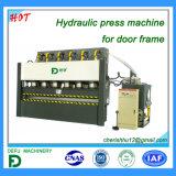Máquina de la prensa hidráulica de Lizhou/Defu para el marco de puerta