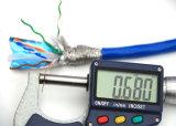 SFTP CAT6 0.58mm сети CAT6 кабеля свет DC Ccu Bc - голубой UL PVC/RoHS