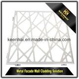 Panneau de revêtement personnalisé neuf de mur extérieur de l'aluminium 2017