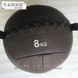 Bola suave de la pared de la PU del golpe de la medicina del peso de Crossfit del equipo de la aptitud de la gimnasia