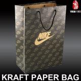 주문을 받아서 만들어진 Kraft 종이 봉지 종이 쇼핑 백