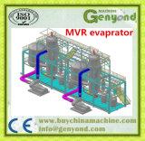 Evaporador da MVR da concentração para o produto de alimento