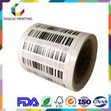 Autoadesivo stampato adesivo termico su ordinazione del documento di trasferimento di stampa del contrassegno del prodotto