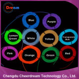 Het kleurrijke Licht van de Kabel van het Neon van de Draad van Gr voor Decoratie