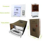 Großhandelswüsten-kommerzielle bewegliche Verdampfungsluft-Kühlvorrichtung mit Wasserkühlung-Ventilator