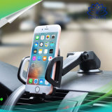Suporte do telefone da montagem do carro do pára-brisa do copo da sução uma rotação de 360 graus para Smartphones