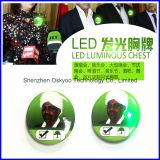 Divisa luminosa del Pin del botón del LED