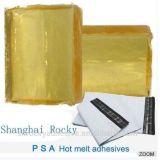 Pressão quente rochosa do derretimento de Shanghai - adesivo sensível para a selagem do saco do mensageiro